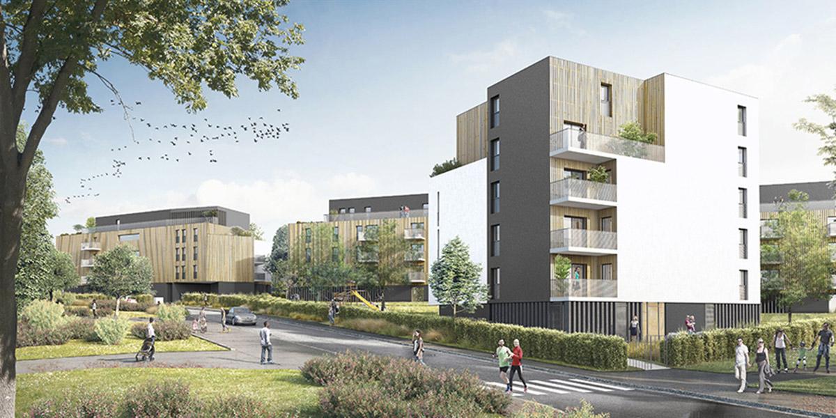 Champs sur Marne (94) / 80 logements en accession sociale dont 15 en habitat participatif.