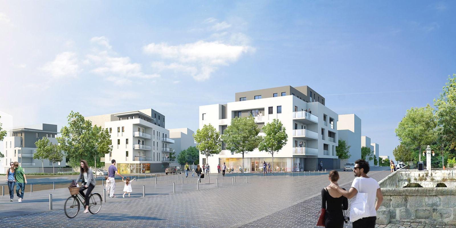 Chilly Mazarin (91) / Projet d'aménagement du site Découflé