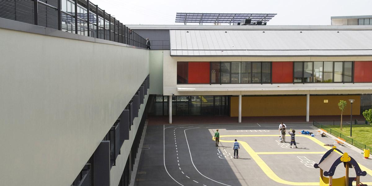 Montreuil-Sous-Bois (93) / Groupe scolaire Louise Michel