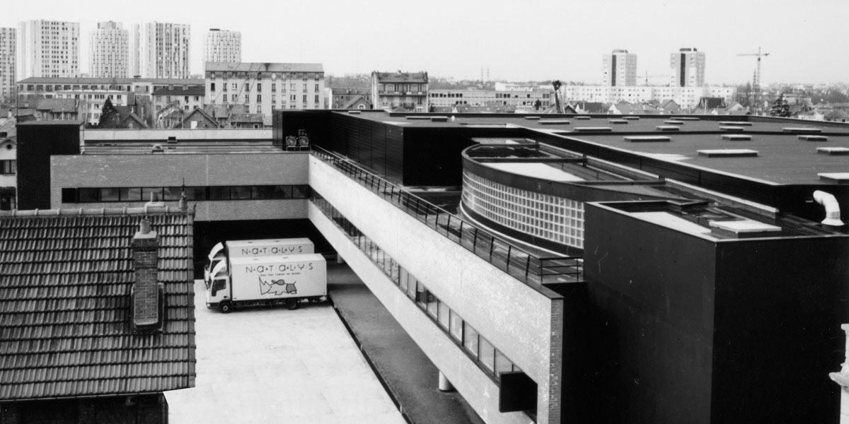 Nanterre (92) / Siège social, bureaux et entrepôts NATALYS - reconstruction.