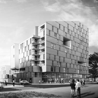 Saint Ouen (93) / Appel à projet d'urbanisme.