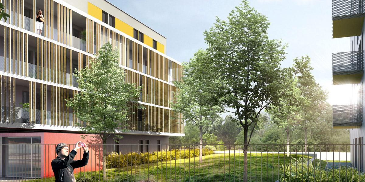 Tremblay-en-France (95) / Logements locatifs sociaux, conception-réalisation