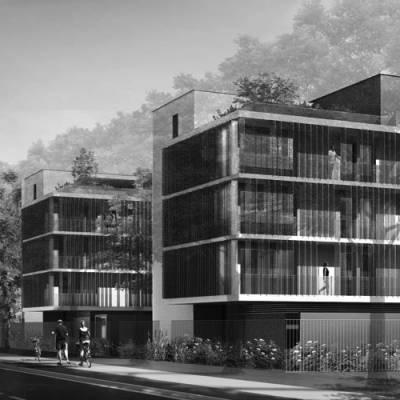 Tremblay-en-France (95) / Logements locatifs sociaux, conception-réalisation.