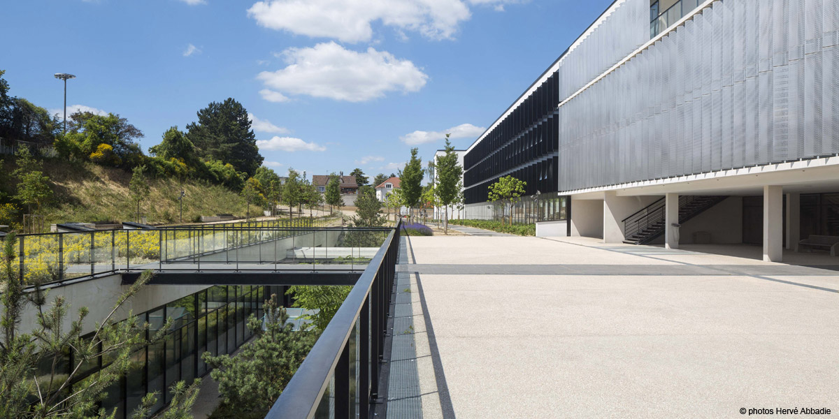Aequo Architectes Rueil Malmaison 92 Lycee Richelieu Phase 2 Bat D Construction Neuve