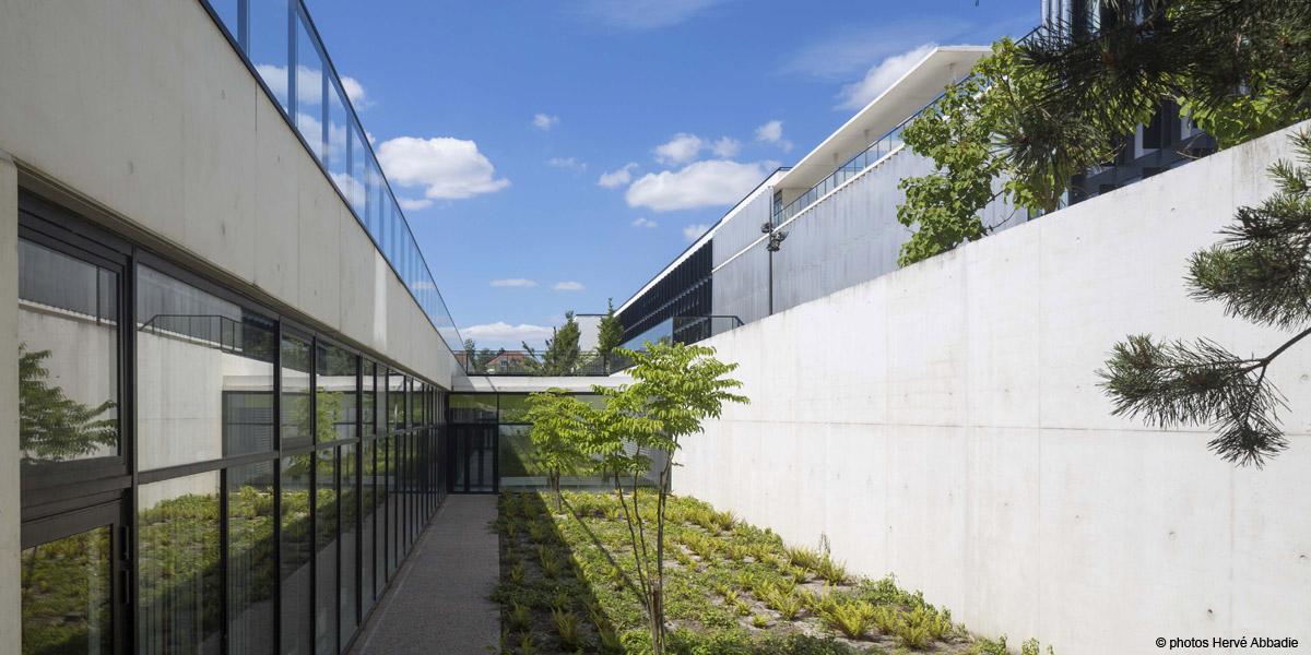 Rueil-Malmaison (92) / Lycée Richelieu Phase 2 / Bât. D - Construction neuve