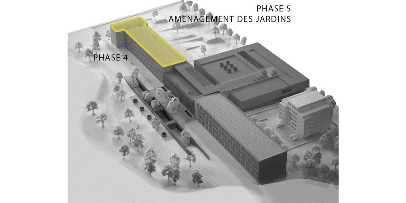 Rueil-Malmaison (92) / Lycée Richelieu Phase 4 / Bât. C - Réhabilitation lourde