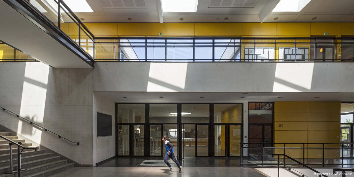 Rueil-Malmaison (92) / Lycée Richelieu Phase 1 / Bât. A - Construction neuve