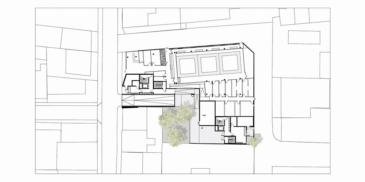 Villejuif (94) / 44 logements en accession sociale et une maison des arts martiaux.